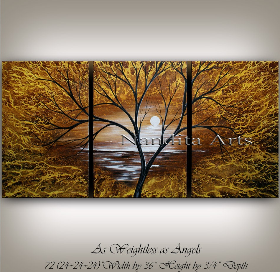 landscape painting wall art canvas art decor abstract zoom