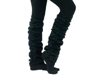 Leg warmers leg warm BLACK