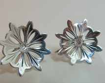Sterling Hand-Etched Earrings Item W-#472