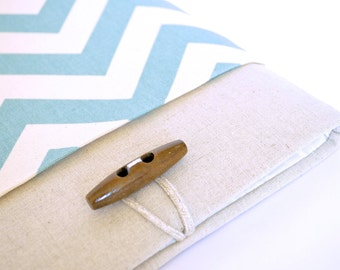 "Chevron Kindle Cover, Kindle 6"" Case, Basic Kindle Sleeve, Kindle Paperwhite Case with Pocket"
