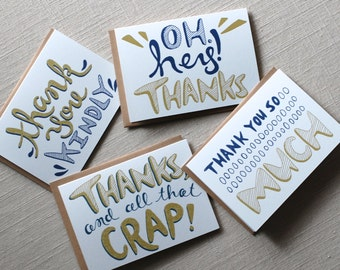 Note Card Set: Bundle of Thanks
