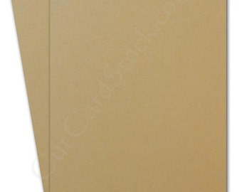 "Light Brown 5""x7"" Cardstock 25 pack"