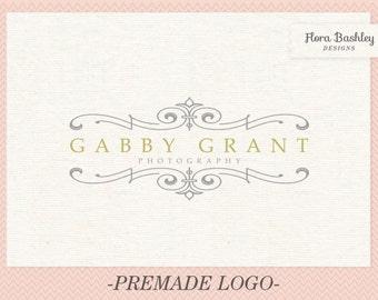 Custom Logo Design Premade Logo and Watermark - FB132