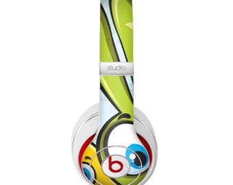 The Toon Green Rabbit and Yellow Chicken Skin for the Beats by Dre Headphones (All Versions Available)