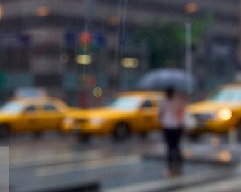 Photo print: Rainy day in New York. Fine art photography. Photography