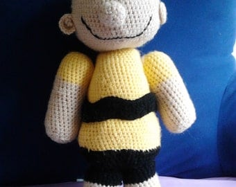 Charlie Brown Amigurumi Doll Pattern