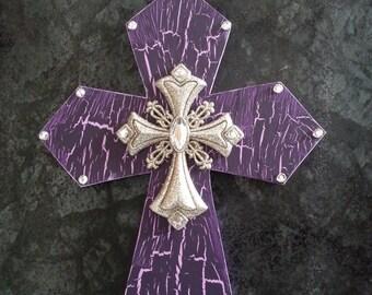 Heavenly Purple Cross