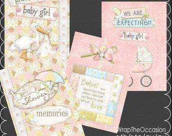 Girl Baby Shower Brag Book