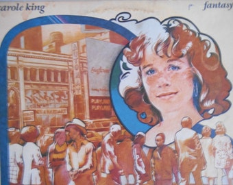 Carole King- Fantasy-vinyl record