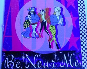ABC - Be Near Me - vinyl record