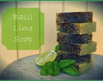 Basil Lime Soap