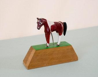 Miniature Vintage Folk Art Horse