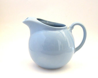 Luray Restyled Water Pitcher - Windsor Blue