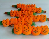 Pumpkins In A Patch Pretzel Pops (Set of 6) Perfect For Fall Parties!