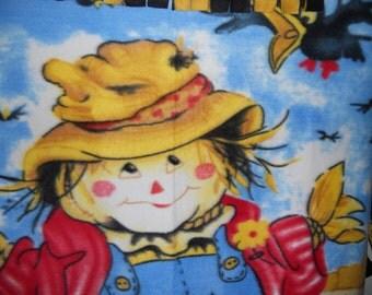 Scarecrow Fleece Throw