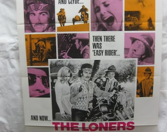 The Loners 1972 72/89  Movie Poster mp059