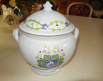 PORTUGAL BEAN POT with Lid