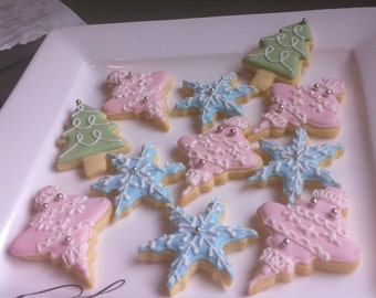 20 Christmas cookies  Platter.