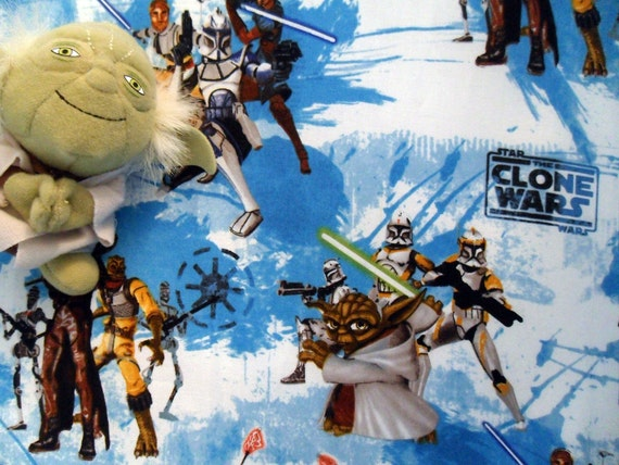 Star wars drap housse lit b b clone wars for Drap housse traduction