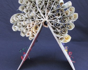 Altered book Art Sculpture-Rollers #2