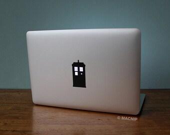 Doctor Who Tardis Geronimo Macbook Decal Laptop Sticker Macbook Pro Air Vinyl Decal Macbook Sticker Macnip azs