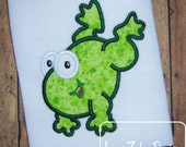 Frog 34 Applique Design