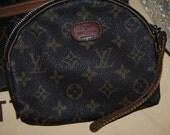 Vintage Louis Vuitton Monogram Make up Pouch 100% Authentic