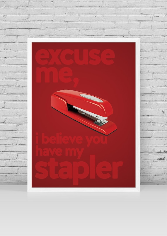 Items Similar To Office Space Minimalist Poster Melvin