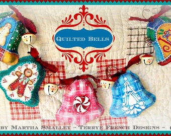 Quilted Bells - Painted by Martha Smalley, Painting With Friends E Pattern
