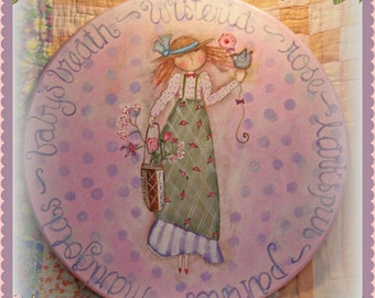 French Country - Painted by Martha Smalley,  Painting With Friends E Pattern