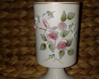 Vintage Lefton China Hand Painted Bud Vase