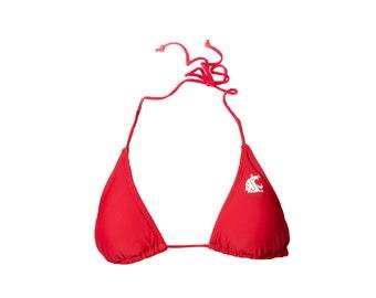 WSU Cougar Pride Bikini Top