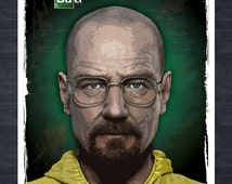 BREAKING BAD Walter White - A3 Digital Print - il_214x170.532505701_ry8a