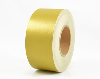 GOLD PAPER RIBBON - Gold Paper Ribbon / Belly Band (30 metre roll)