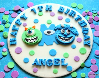 1  Monsters Fondant Cake Toppers
