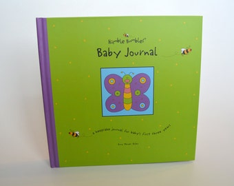Humble Bumbles Baby Journal Recording Baby's First Three Years