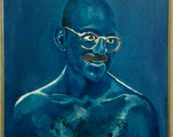 Tobias Funke (From Arrested Development) 10x14 Print of Acrylic Portrait