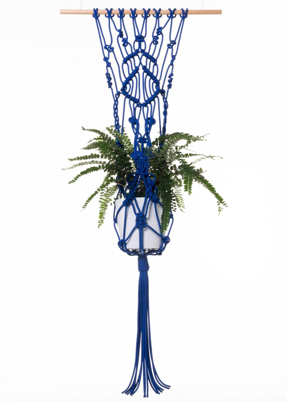 macrame plant hanger hanging basket pot hanger hanging. Black Bedroom Furniture Sets. Home Design Ideas