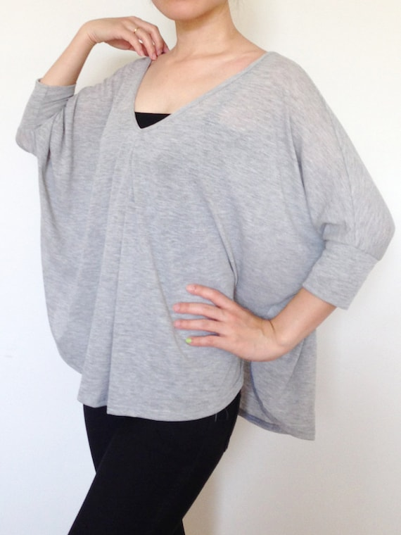 Ladies Light Grey Blouse 93