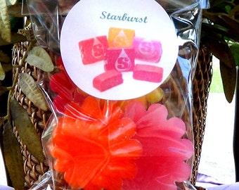 BUY 1 GET 1 FREE Starburst Wax Melts/Tarts Set of 5