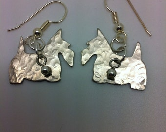 Scottish Terrier Dog Earrings