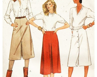 McCall's Sewing Pattern 7993 Size: A 6-8-10 Used
