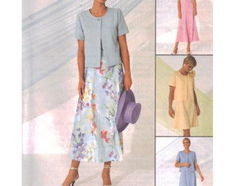 McCall's Sewing Pattern 9269 Misses' Dress  Size:  B  8-10-12  Uncut