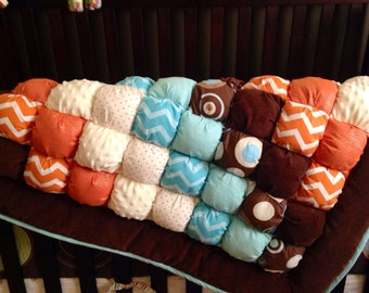 Custom Puff Quilt for Baby