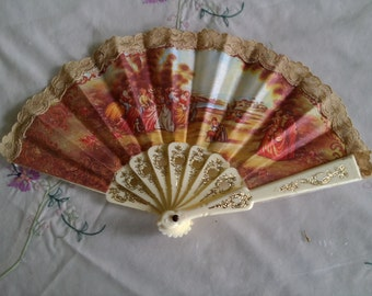 Victorian style Fan decorative or functional