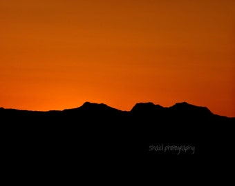 color sunset photography