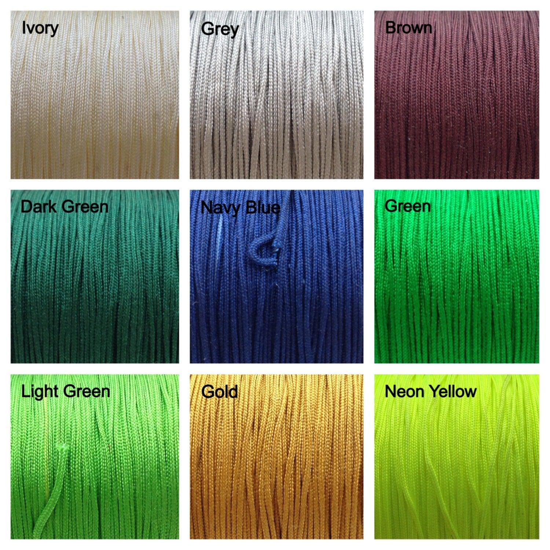 Colored Nylon Cord 55
