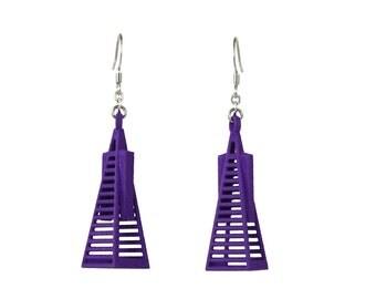 Transamerica Building Earrings - 3D Printed Nylon