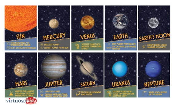 about the solar system printable - photo #29