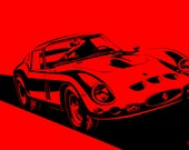 Ferrari 250 GTO. Choose your Size, Material, Color, & Customizations